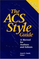 The ACS style guide 1997