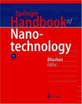 Cover: Springer handbook of nanotechnology