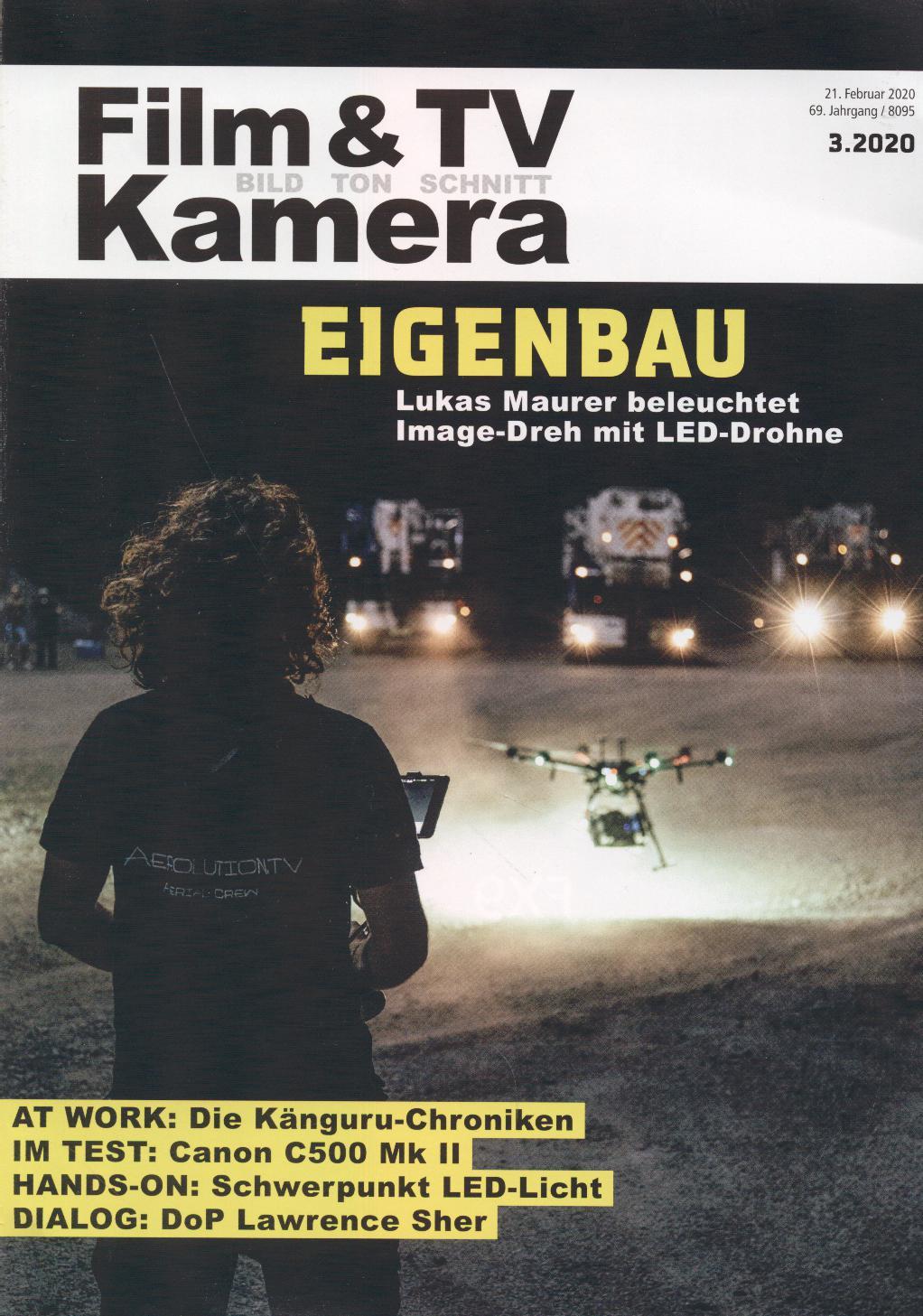 Film- und Tv-Kameramann