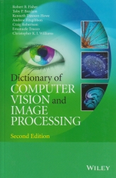 Cover:Dictionary of computer vision and image processing
