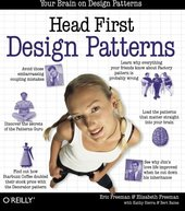 Cover: Head first design patterns